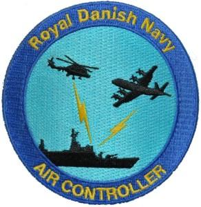 air controller broderet emblem